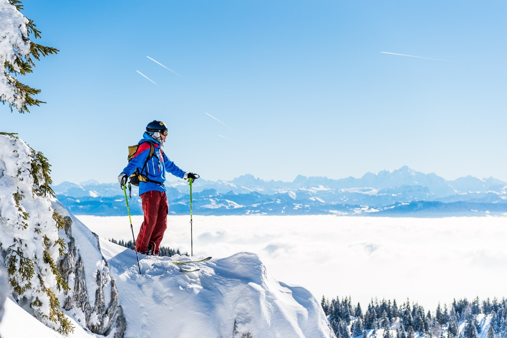 La Dole, Jura, Les Rousses, ski, freeride, neige, hiver