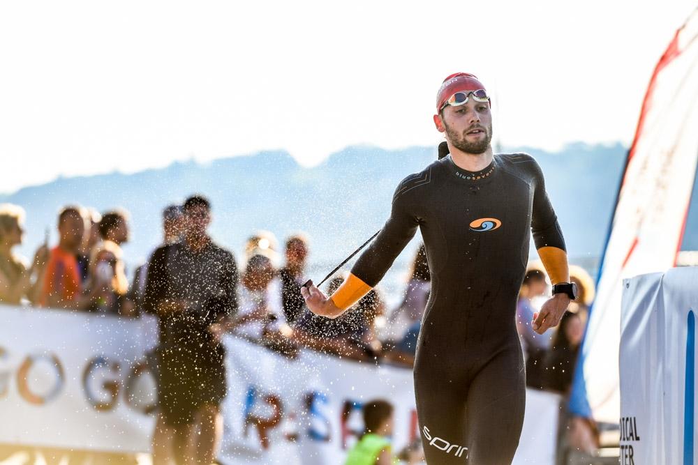 Triathlon de Geneve, nage, swim, run